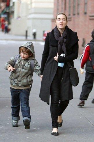 Look calle famosas bufanda: Kate Winslet