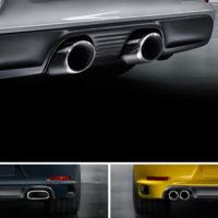 Porsche 911 Carrera 2016. ¿Por qué tiene hasta tres diseños de escapes diferentes?