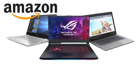 Para comenzar año estrenando portátil, estás ofertas de Amazon en equipos HP, Lenovo, MSI o ASUS te echarán una mano con el presupuesto