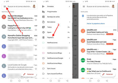 Gmailpapelera