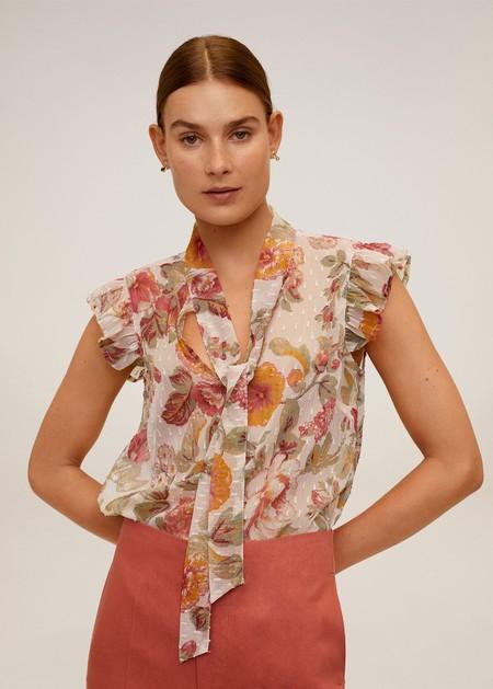 Blusa Fluida Estampado Floral