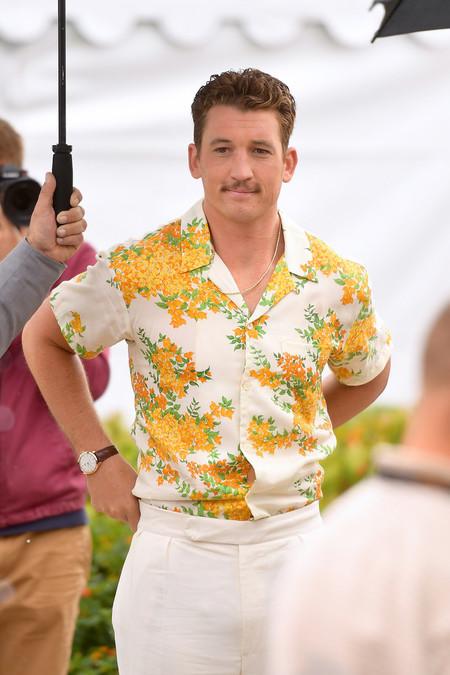 Miles Teller Demuestra Como Se Lleva El Total Look En Blanco En Primavera A Su Paso Por Cannes 03