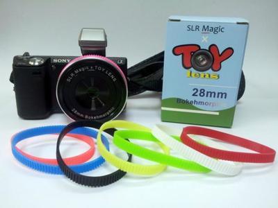 SLR Magic anuncia nuevas lentes de juguete para divertirte en las monturas para NEX, MFT y Pentax Q