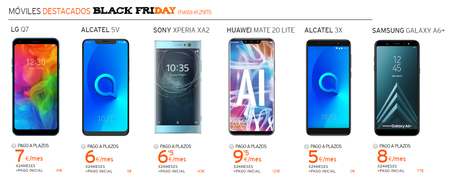 Moviles Simyo Black Friday