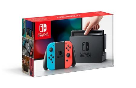 Nintendo Switch rebajada y lanzamiento