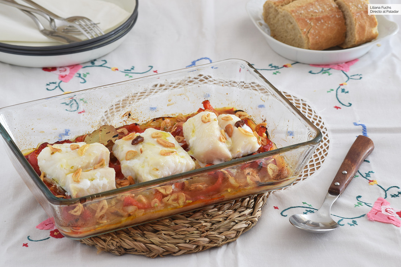 Bacalao Al Horno De Semana Santa Receta De Cocina Fácil Sencilla Y Deliciosa