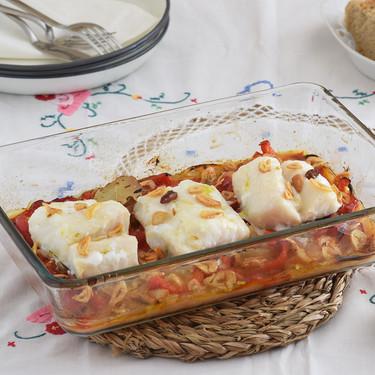 Bacalao al horno: receta tradicional, pero fácil, típica de Semana Santa