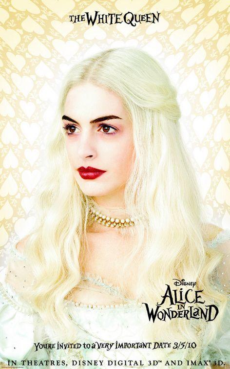 Foto de 'Alice in Wonderland' de Tim Burton, nuevos carteles (2/3)