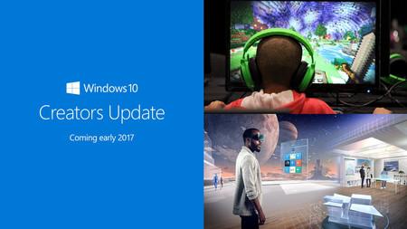 Estas son las novedades de Windows 10 Creators Update, la gran actualización de la próxima primavera