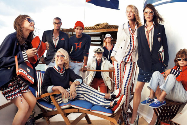 Tommy Hilfiger campaña Primavera-Verano 2013