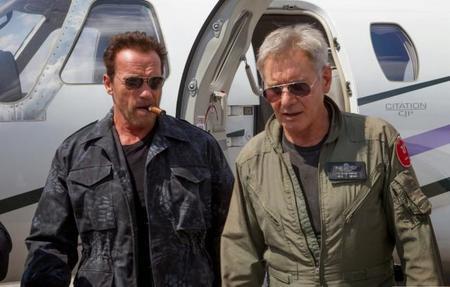 Arnold Schwarzenegger y Harrison Ford en