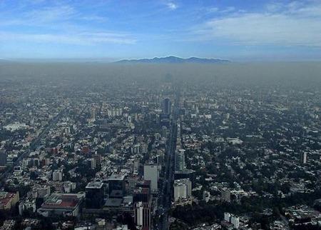 Contaminación del aire en Ciudad de México