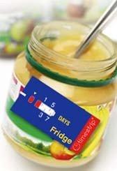 TimeStrip:etiquetas inteligentes para los alimentos