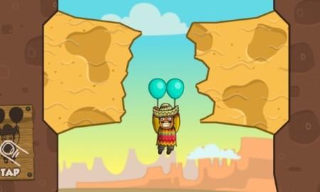 Amigo Pancho, rescata a tu bebé con la ayuda de unos globos y tus dedos