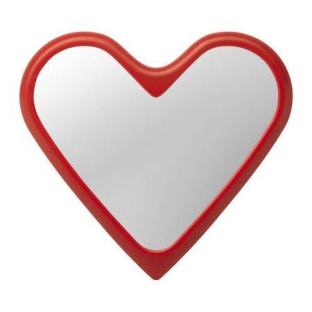 Espejo Vanna con forma de corazón de Ikea