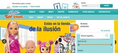 La juguetera ´Famosa` abre tienda online con outlet incluido