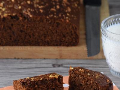 Gingerbread o pan de jengibre de puré de manzana. Receta de bizcocho jugosísimo y aromático