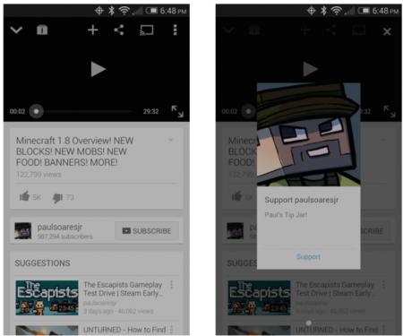 YouTube ofrece a sus usuarios poder recibir donaciones: ¿un paso para competir con Twitch?