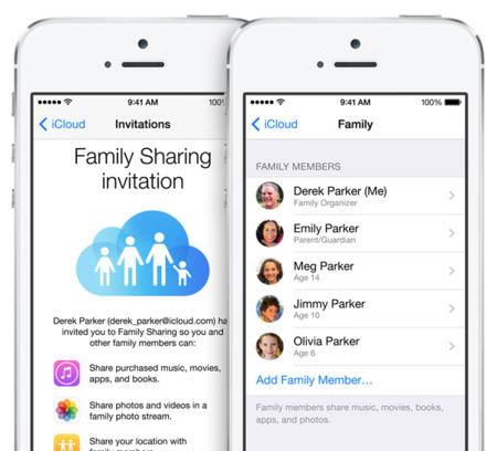 Apple pide a los desarrolladores que activen ya Family Sharing en sus aplicaciones