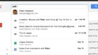 Google amplía Field Trial integrando resultados de Drive y añadiendo otros servicios a la búsqueda de Gmail