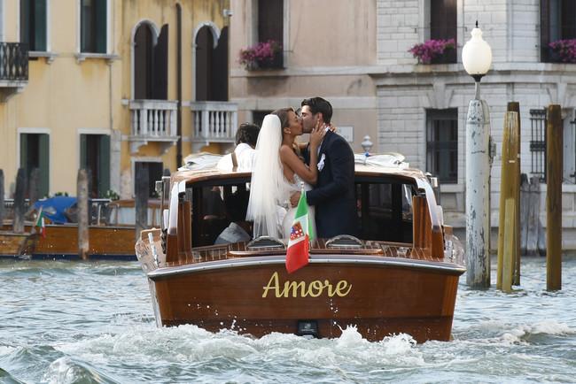 Álvaro Morata y Alice Campello se han dado el sí quiero en Venecia
