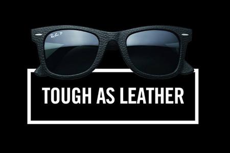 rayban wayfarer leather