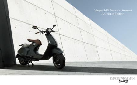 Circula por las calles de tu ciudad desprendiendo estilo: Vespa x Emporio Armani