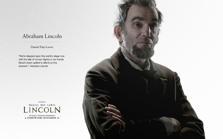 Foto de 'Lincoln', carteles de la película de Steven Spielberg (2/7)
