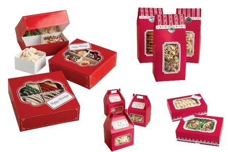 Cajas para galletas Holiday de Wilton