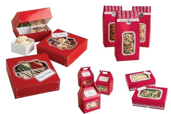 cajas para galletas wilton
