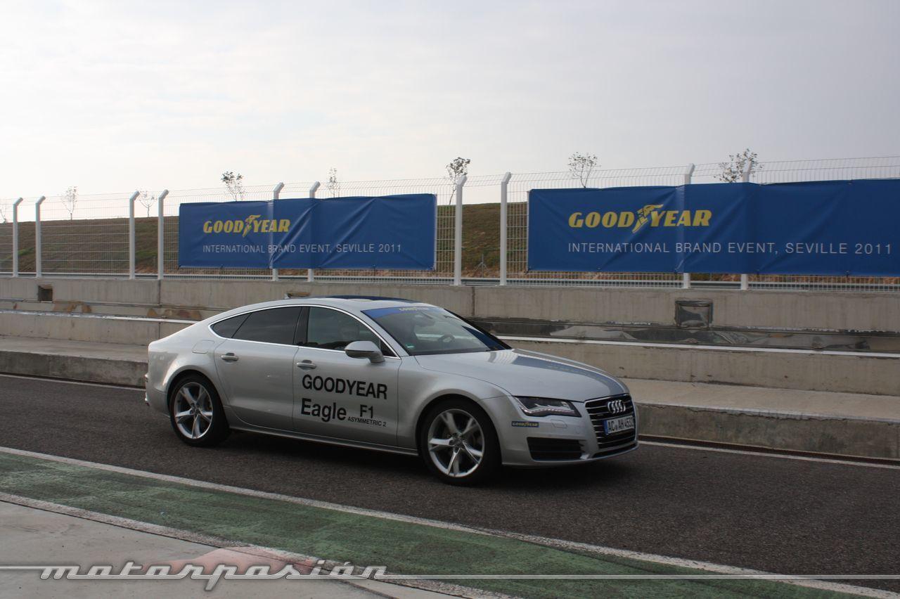Foto de Goodyear Eagle F1: Audi TT RS, Audi A7 y Mercedes CLS (47/79)