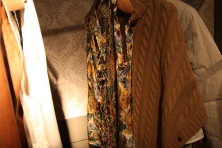 Top floral Massimo Dutti Otoño-Invierno 2011/2012