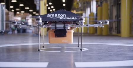 Amazon quiere probar sus nuevos drones de reparto a 80 km/h en sus propias instalaciones