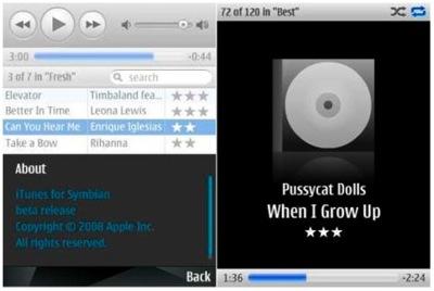 ¿iTunes para Symbian en Enero?