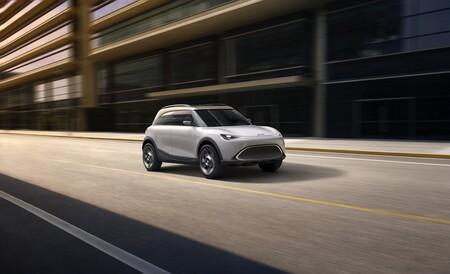 El Smart Concept #1 anticipa un SUV con talla de Countryman y que marcará un nuevo inicio para Smart