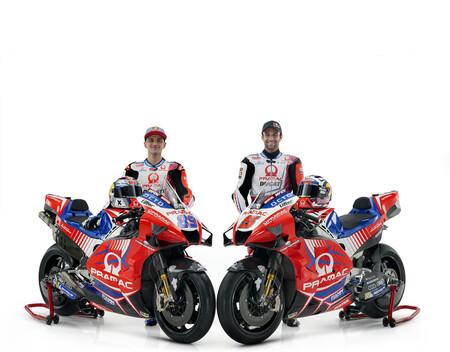 Ya está aquí la Ducati Desmosedici GP21 del Pramac con la que Jorge Martín debutará en MotoGP