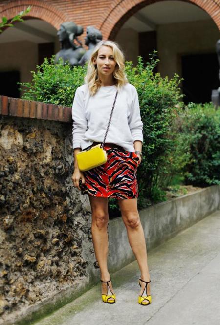 Alexandra Golovanoff, cuando el chic parisino se llena de color