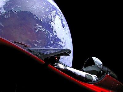 Sigue con esta web el viaje a Marte del Tesla Roadster de Elon Musk