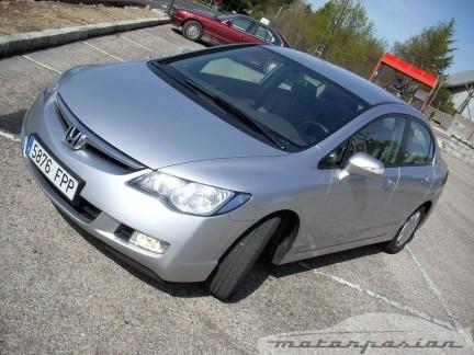 Prueba: Honda Civic Hybrid (parte 1)