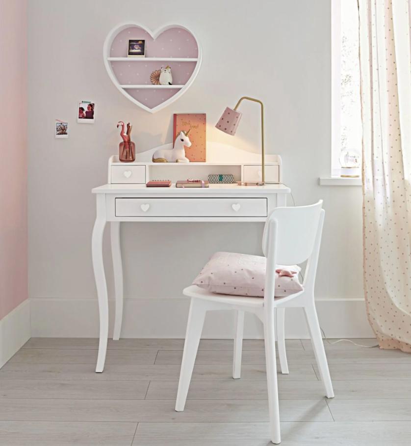 Silla vintage blanca