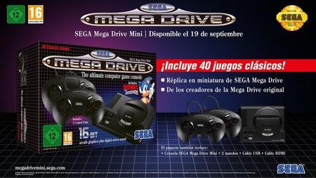La Mega Drive Mini se retrasa un par de semanas y ahora llegará a principios de octubre