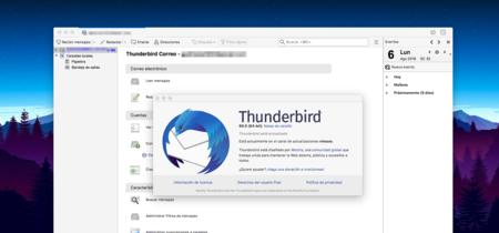 Llega Thunderbird 60, con nuevo diseño y calendario, WebExtensions y una gigantesca lista de cambios