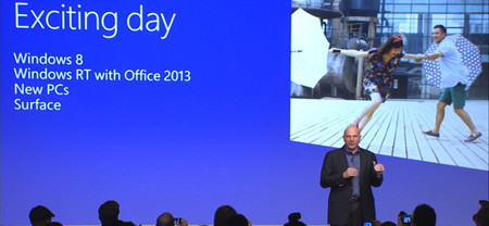 Steve Ballmer en la conferencia Windows 8