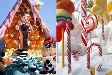 La golosa pintura de Will Cotton, el exceso empalagoso como crítica del consumismo