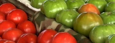 Tomate rojo vs tomate verde. Cuál aporta más nutrientes a tu cuerpo