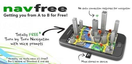 Navfree: GPS gratuito sin conexión de datos para Android y iPhone