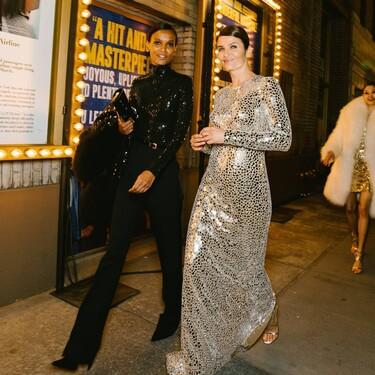 De Naomi Campbell a Bella Hadid o Helena Christensen: el desfile de Michael Kors que parece una convención de top models