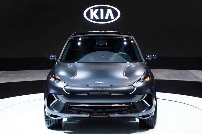 Así es el Kia Niro EV: un prototipo eléctrico que promete más de 380 kilómetros de autonomía