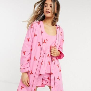 Si eres fan de Friends y sueñas con encontrar tu media langosta, estos pijamas de Asos podrían enamorarte por completo