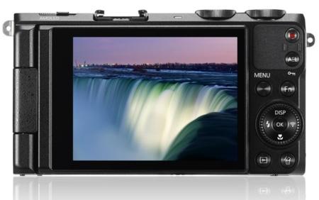 Samsung EX2F pantalla AMOLED